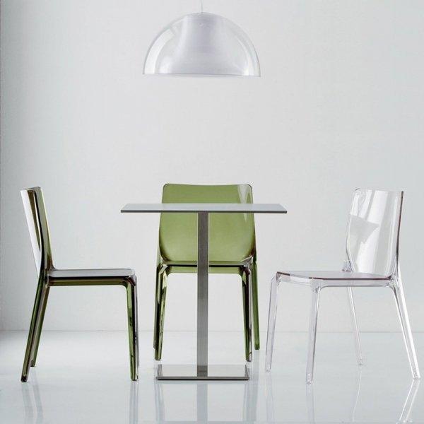 Nowoczesne krzesła do kawiarni Pedrali