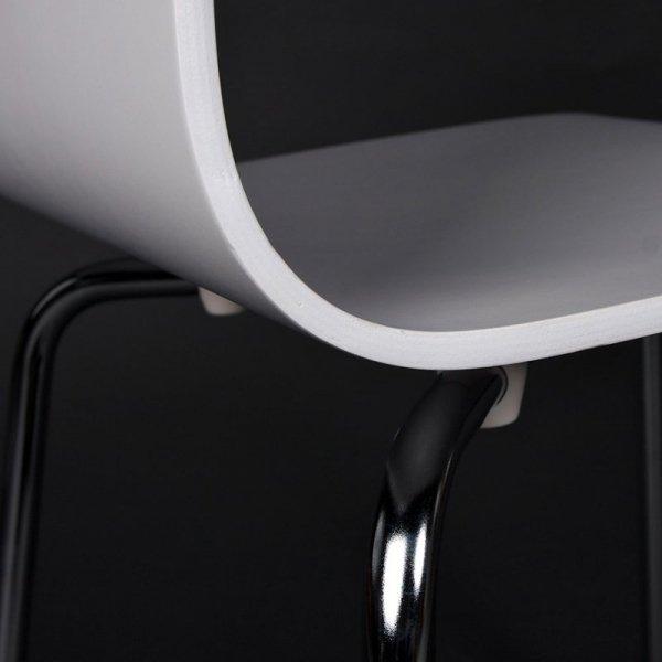 Classic stylowe krzesło do jadalni białe