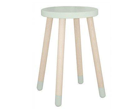 Wysoki stołek lub stolik dziecięcy Flexa Play mleczna zieleń
