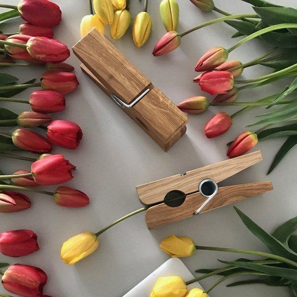 Piękne, drewniane dodatki Mega Clipper Minko