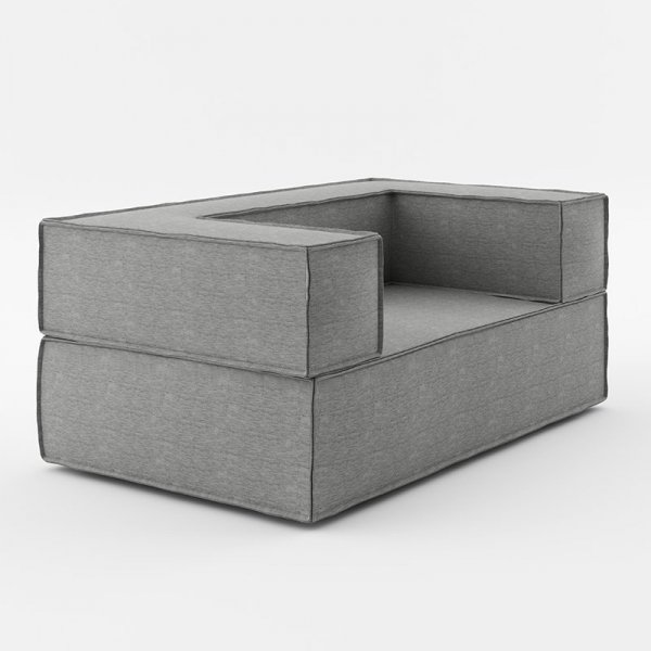 Wyjątkowo wygodna sofa o prostej nowoczesnej formie sprawdzi się jako samodzielny mebel