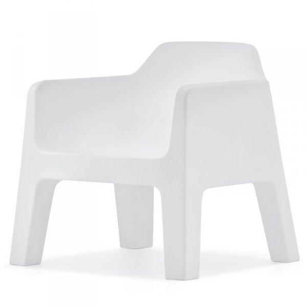 Stylowe fotele do wnętrz i ogrodów Plus Air 631 Pedrali Biały
