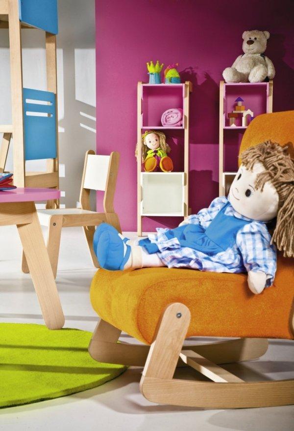 Fotelik dziecięcy FUN z funkcją fotelika bujanego