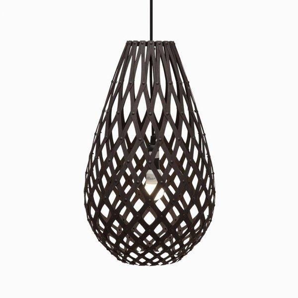 Lampa wisząca drewniana Koura 75cm