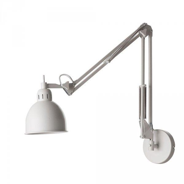 Industrialna lampa scienna doskonale oswietli Twoje biurko, kącik czytelniczy, czy też blat kuchenny.