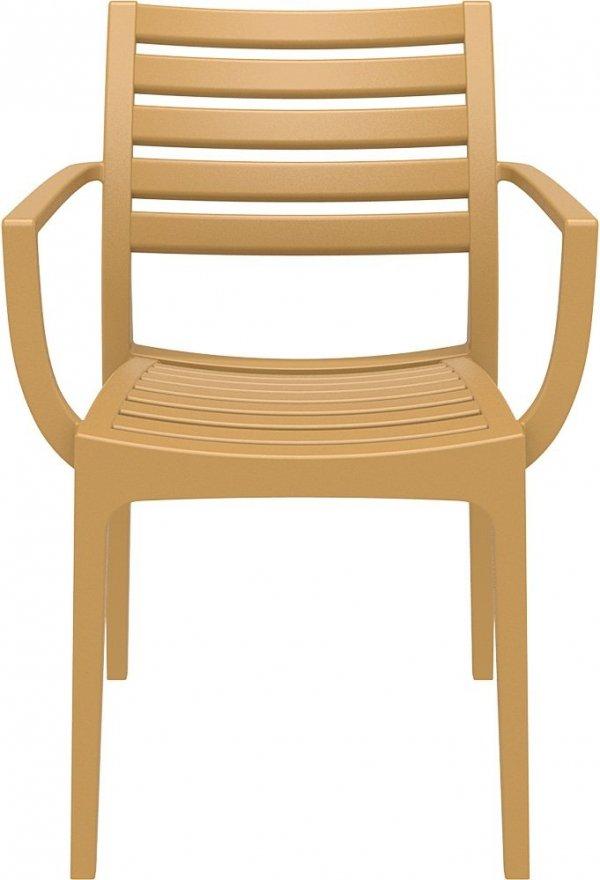 Krzesło Artemis Siesta tekowy kolor