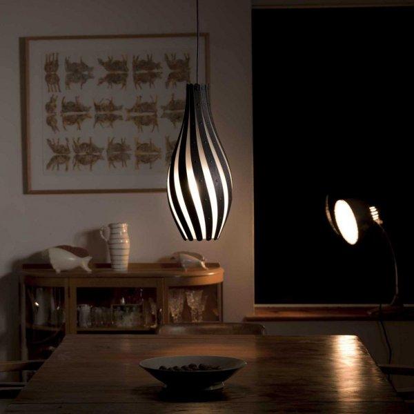 Swish lampa wisząca David Trubridge 56cm