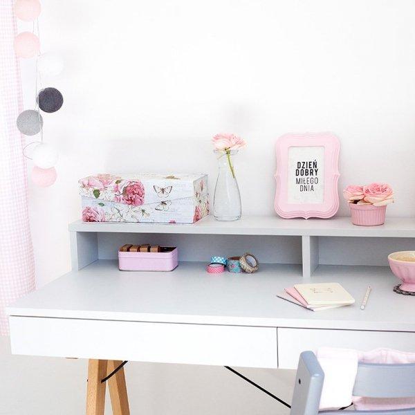 Designerskie biurko Minko w skandynawskim stylu