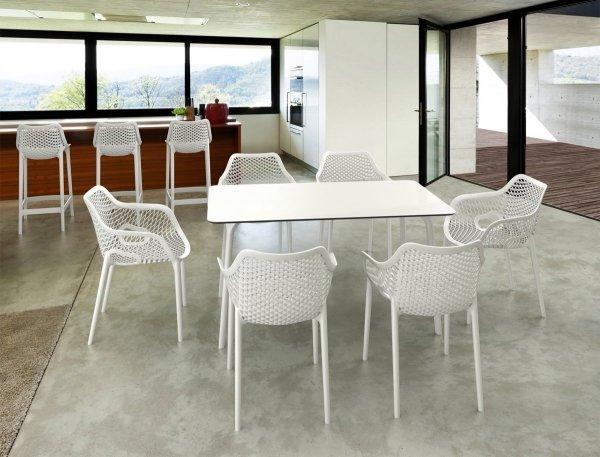 Stół Maya 140 Siesta i krzesła Air XL