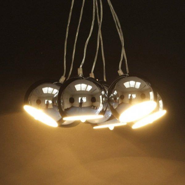 Nowoczesna lampa Eklektik Chrom