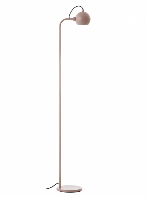 Lampa Stojąca BALL FLOOR Frandsen kolor glossy nude