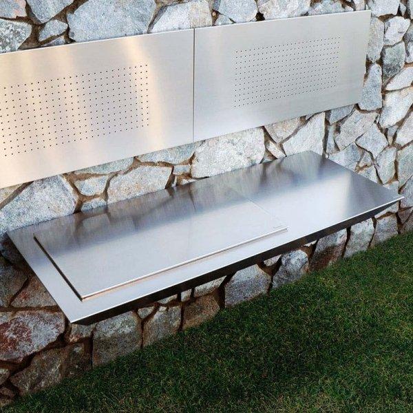 Designerski grill ogrodowy Stromboli