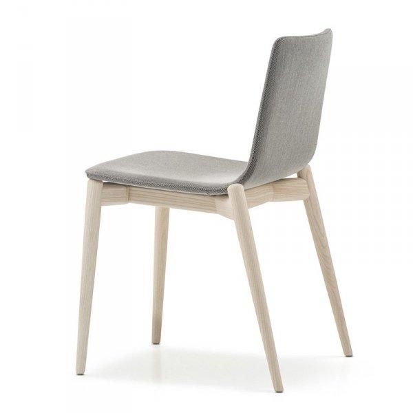 Nowoczesne krzesło drewniane Malmo 391 Pedrali