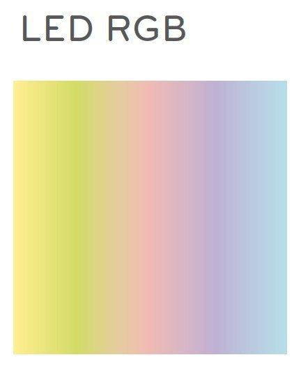 Wow 475L Pufa / Stolik LED RGB Pedrali