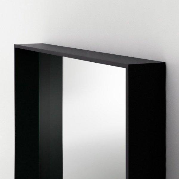Piękny, prosty design oraz staranne wykonanie lustra Woodie Minko