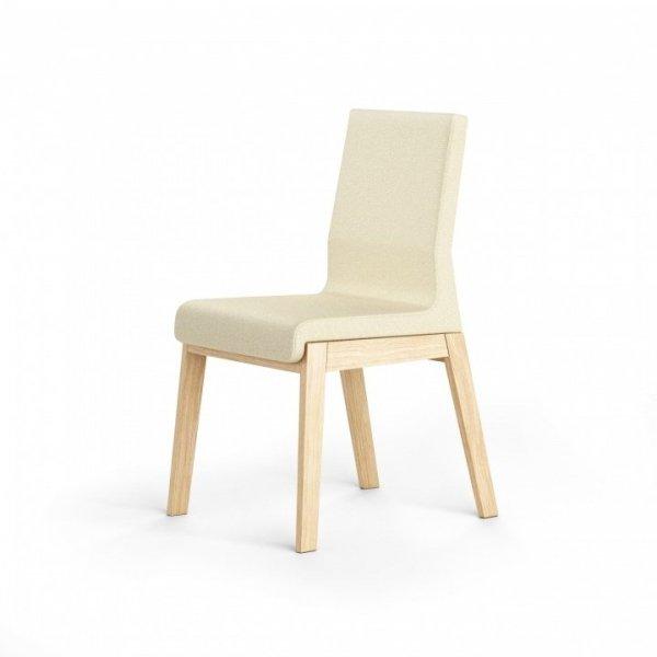Szeroka paleta kolorystyczna tkanin sprawia, że krzesło KYLA doskonale zafunkcjonuje w każdym rodzaju pomieszczeń, niezależnie od zastosowanej wewnątrz stylistyki