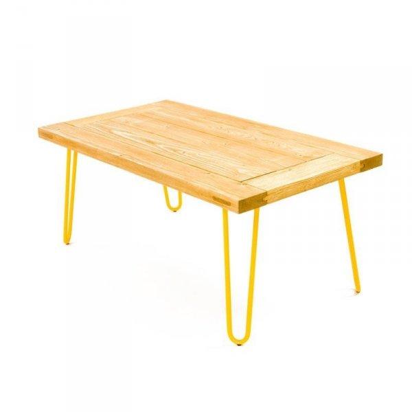 Stolik Kawowy 07 żółte nóżki Gie El