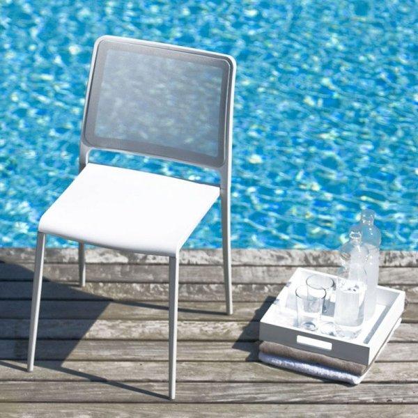 Stylowe krzesła do ogrodu i na taras Pedrali Mya 701
