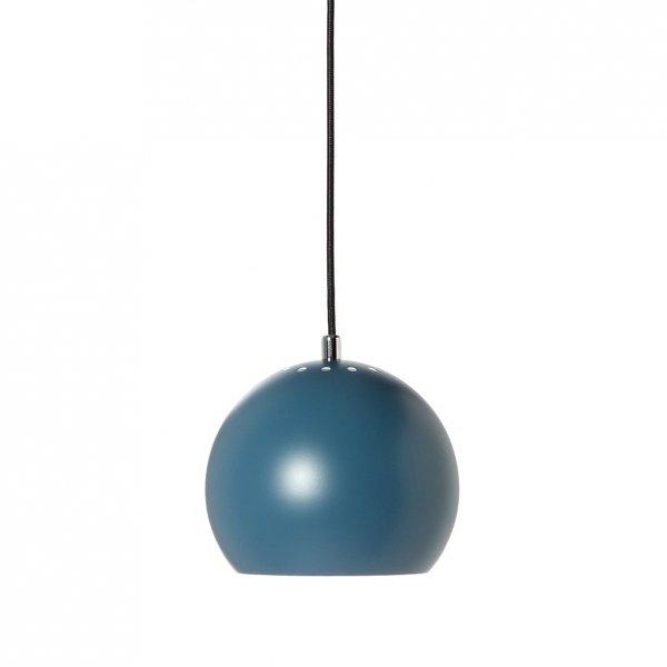 Lampa wisząca ball petrol blue matowa