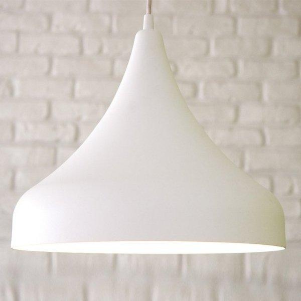 Husar lampa wisząca biała matowa LoftYou