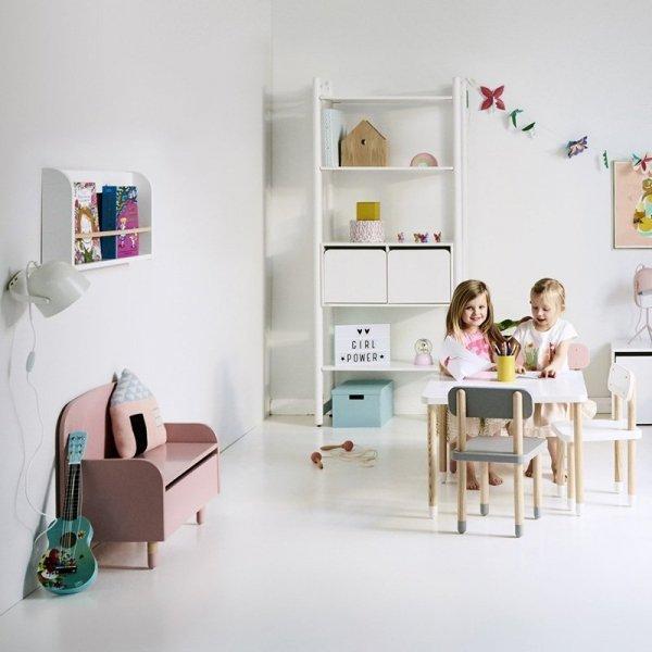 Meble Flexa Play w stylu skandynawskim retro to idealne wyposażenie każdego pokoju dziecięcego