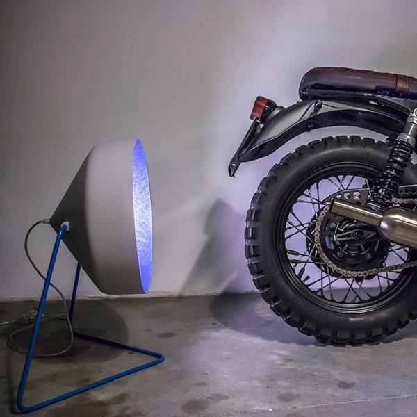 Lampa Podłogowa Cyrcus F Cemento