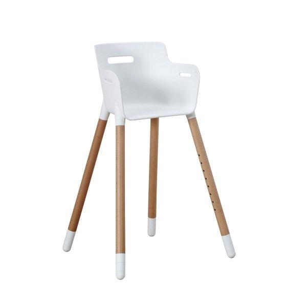 Krótkie nóżki do krzesełka dziecięcego bukowe Flexa Baby