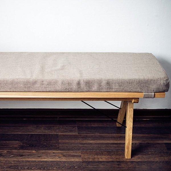 Stylowa ławka, idealna do kuchni, przedpokoju czy jadalni Minko Woodie