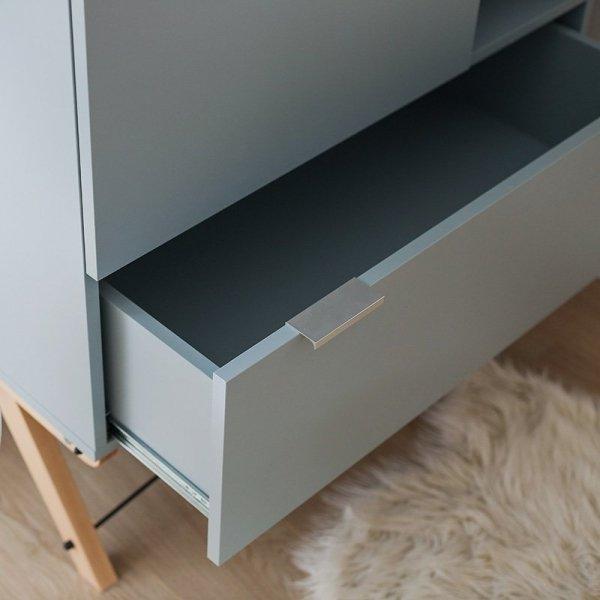 Piękny design oraz staranne wykończenie szafy Minko Basic