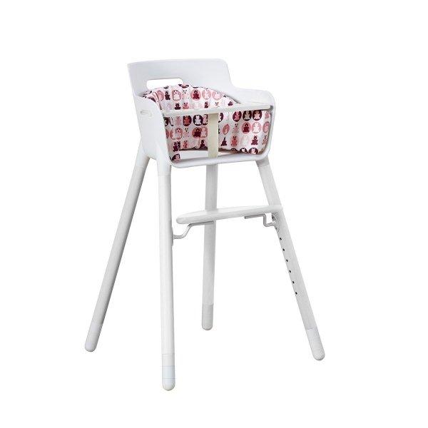 Poduszka do wysokiego krzesełka różowa Flexa Baby
