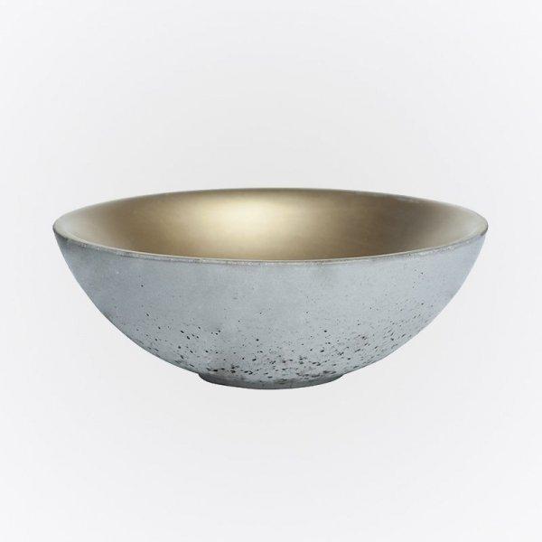 Stylowa betonowa miska do kuchni i jadalni