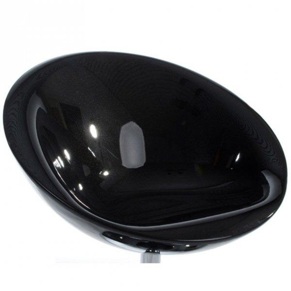 Nowoczesny fotel Bowl czarny