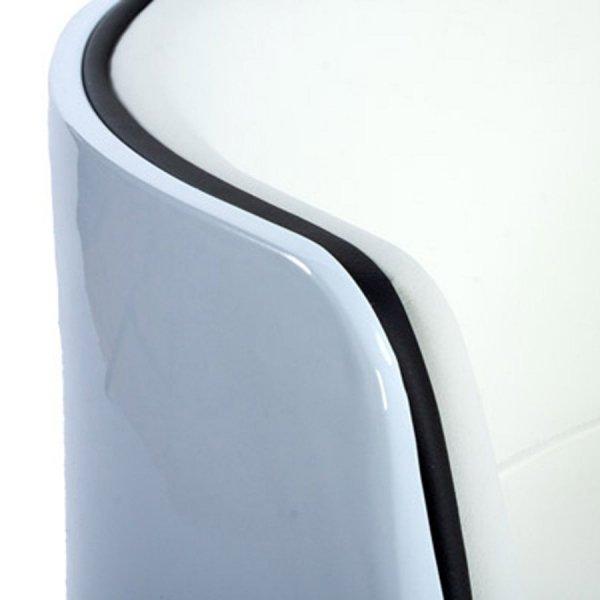 Fotel kubełkowy Harlow Biały