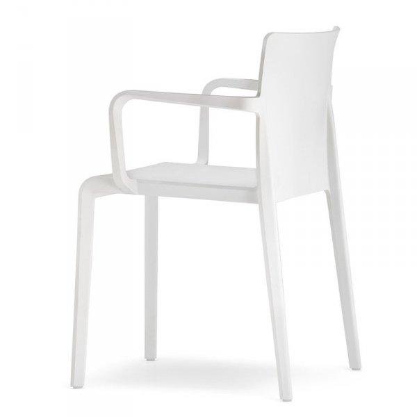 Krzesła z tworzywa do nowoczesnych wnętrz Pedrali