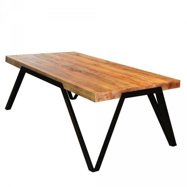 Barcelona stolik drewniany orzech pirenejski jasny