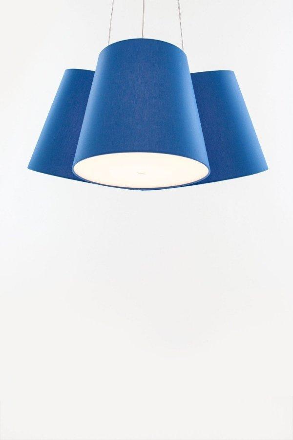 Cluster Lampa Wisząca z 3 kloszy FrauMaier