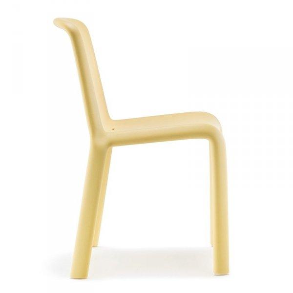 Krzesło ogrodowe Pedrali Snow 303 Żółte