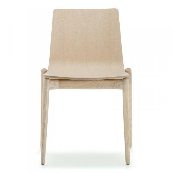 Designerskie krzesło drewniane Malmo