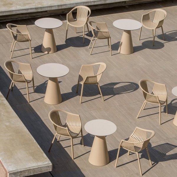 Włoskie krzesła Pedrali