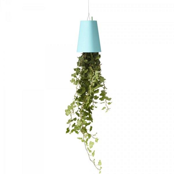 Boskke Sky Planter wisząca doniczka Recycled Small Niebieska