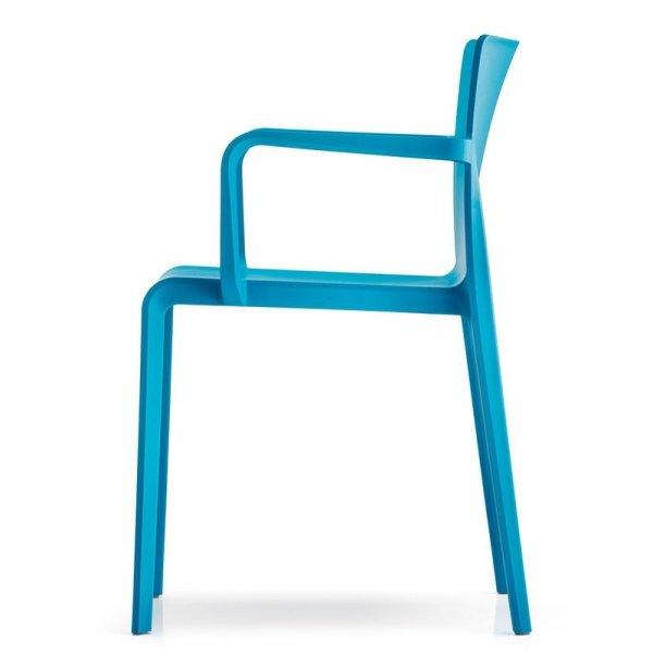 Krzesło Volt 675 Pedrali niebieskie