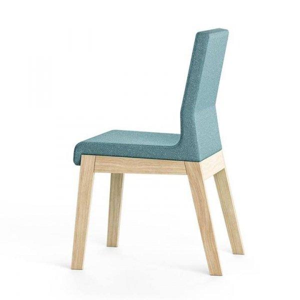 Kyla Krzesło Wysokie Jednokolorowe Absynth