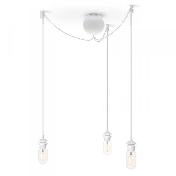 Stylowe potrójne zawieszenie do lamp wiszących Vita Copenhagen