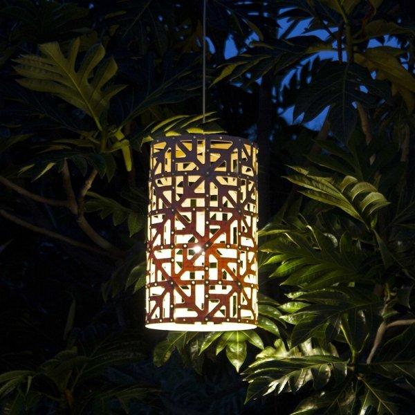 Drewniana lampa wisząca Ulu 65cm