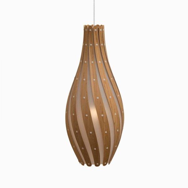 Swish lampa wisząca David Trubridge 75cm