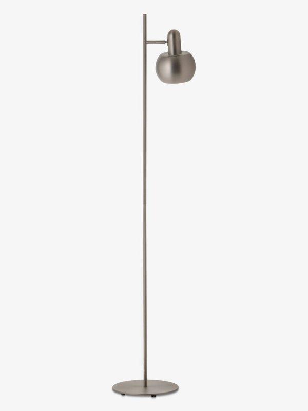 Lampa podłogowa BF20 pojedyńcza Frandsen szczotkowana satyna
