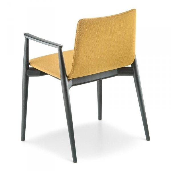 Designerskie krzesła tapicerowane do biura i salonu