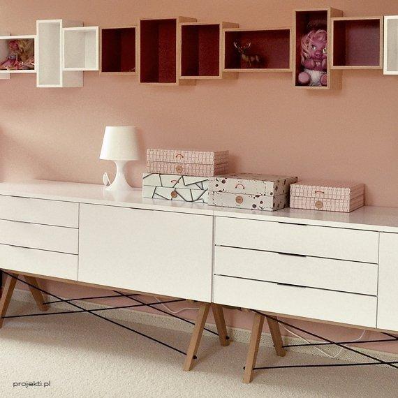 Nowoczesne meble do salonu, sypialni czy przedpokoju, Minko Sideboard