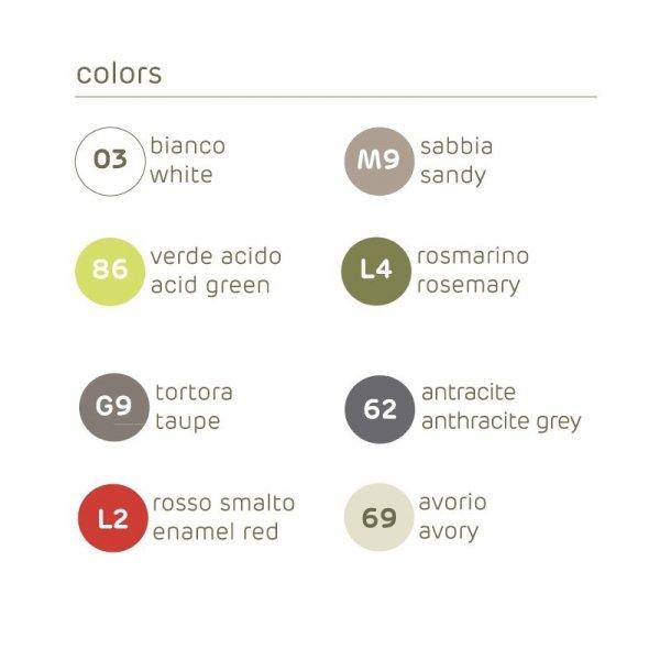Doniczka na balkon i taras UP kolory