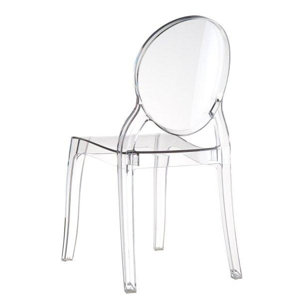 Nowoczesne krzesła Elizabeth są bardzo wytrzymałe, odporne na zarysowania, warunki atmosferyczne oraz promieniowanie UV. Krzesła śwetienie sprawdzają się wewnątrz pomieszczeń oraz na tarasie, czy w ogrodzie